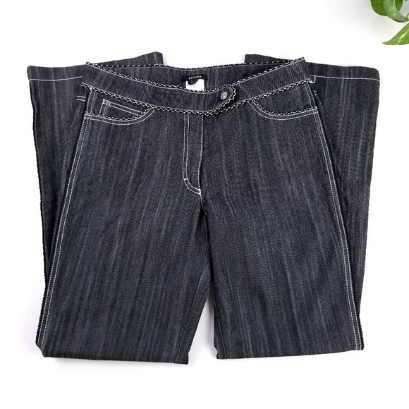 ESCADA | High Waisted Bootcut Dark Wash Jeans 8 10